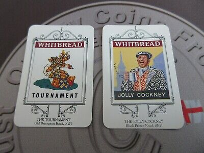 £4.99 • Buy Whitbread Inn Signs From The London 10 Card Series Great Condition, Pub Cards