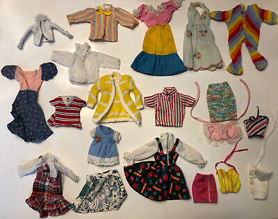 $ CDN13.59 • Buy Lot Of Barbie Clothes Vintage, Original, & Homemade Barbie Ken PJ Skipper    L4