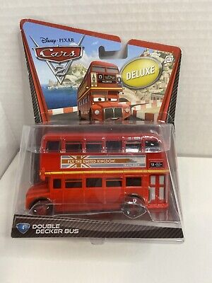 $ CDN38.28 • Buy Disney Pixar Cars 2 Deluxe Double Decker Bus 1:55 Scale 2010