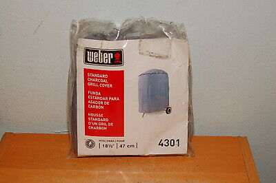 $ CDN22.31 • Buy Weber 4301 Standard Cover For 18.5 Inch Charcoal Grill BBQ Cover