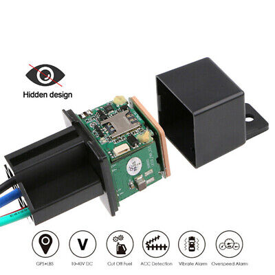 Car GPS Tracker Relay GPS Tracking Spy Security Device Cut Off Oil System BJ • 15.70£