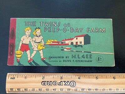 The Twins At Peep-O-Day Farm - H L Gee  Illus. By Openshaw, Olive F. 1940s • 3.50£