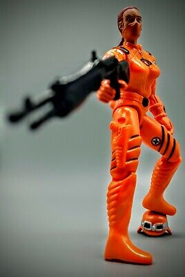 $ CDN26.41 • Buy GI Joe Female Cobra Trooper Custom Red Hair With Orange Uniform