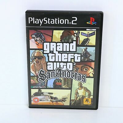 £10.97 • Buy Grand Theft Auto (GTA) San Andreas - Sony PS2 Collectable Condition With Map