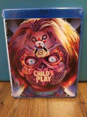 New Childs's Play 1988 Blu Ray + Walmart Exclusive Faceplate • 9.28£