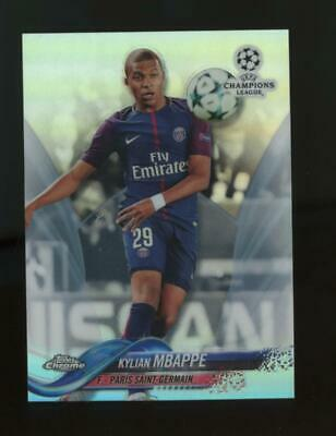 $ CDN137.61 • Buy 2017 Topps Chrome UEFA Champions League Refractor Kylian Mbappe RC Rookie