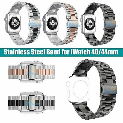 AU7.99 • Buy Stainless Steel Strap For Apple Watch Series 1 2 3 4 IWatch 38mm 42mm Band Clasp