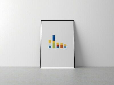 £9.99 • Buy Lego TV Characters Poster, Simpsons, Southpark, Lego Poster, Wall Art, TV Show