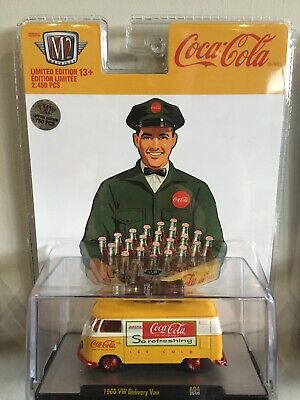 $ CDN7 • Buy  💥 2020 M2 Machines Coca Cola 1960 VW Delivery Van Chase A04 20-09 💥