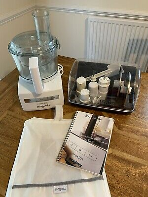 View Details Magimix Compact 3200 Automatic Food Processor - Complete Set In Good Condition  • 104.00£