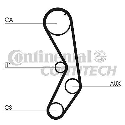 AU23.16 • Buy Timing Belt CT605 Contitech 081679 46408751 46417967 71719005 7576135 Quality