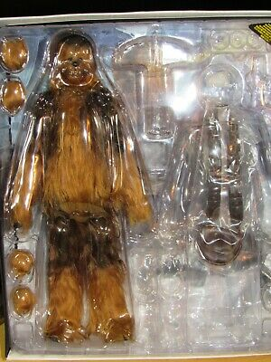 $195 • Buy Hot Toys Star Wars MMS375 Chewbacca With All Accessories Except Blaster