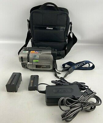 $ CDN201.36 • Buy Sony Handycam CCD-TR75 Hi8 8mm Camcorder Nightshot Case Charger Batteries Tested