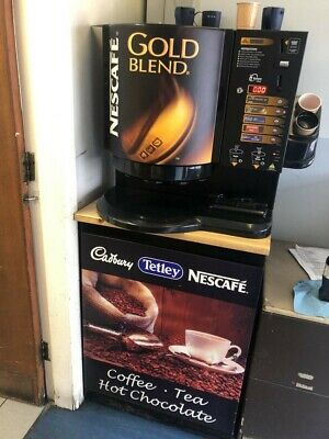 Darenth Encore In Cup Vending Machine Coin Operated 73m Incup Drinks  Coffee Tea • 349£