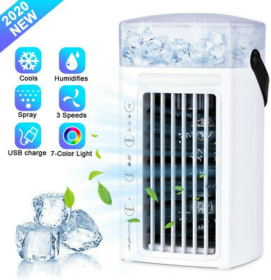 AU90.02 • Buy Air Cooler Portable Mini Air Conditioner Humidifier Purifier Cooler Fan New