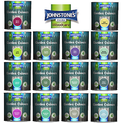£13.98 • Buy Johnstones Woodcare Garden Colours Paint 1.0l  - Furniture Shed Fence