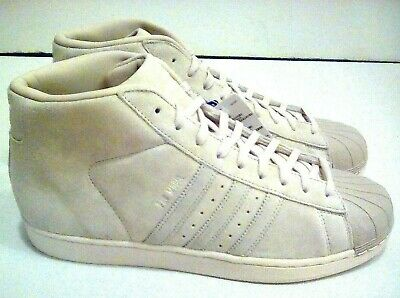 £75.33 • Buy Adidas Pro Model Shell Toe BZ0213 Suede Clear Brown Black White Size 11