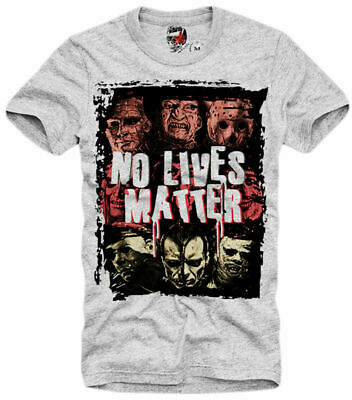 E1syndicate T Shirt  No Lives Matter  Freddy Jason Pennywise Hellraiser Blm 5266 • 15.98£