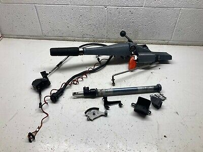 $475 • Buy H5 Yamaha Outboard 40 50 HP 2 Stroke Tiller Steering Handle With Key Switch #1