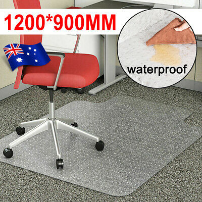 AU40.99 • Buy Office Home Computer Work Chair Mats Carpet Floor Pads PVC Plastic 1200x900mm AU