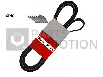 6 Rib Multi V Drive Belt Fits CHRYSLER TACUMA Mk2 3.3 R00 Contitech 4060987 New • 21.30£