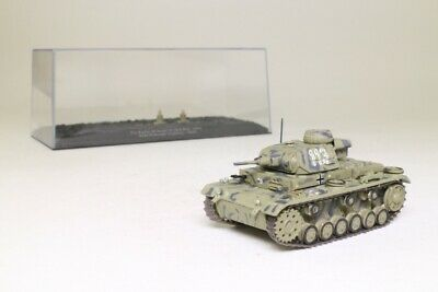 DeAgostini; Pz.Kpfw.III Ausf.G Tank; German Army, Lybia, 1941; Excellent Boxed • 9.99£