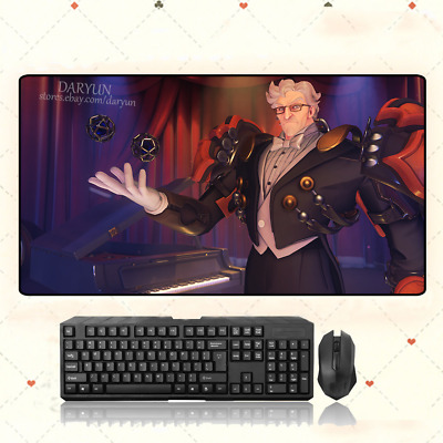 AU35.33 • Buy OW GAME Overwatch Sigma Extra Large Mouse Pad Free Shipping(31.5'' * 15.7'')