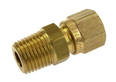 £3 • Buy Wade Brass Metric Stud Compression Fittings With Male Tapered BSP Threads BSPT