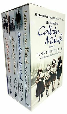 Call The Midwife Stories 4 Books Adult Pack  Paperback Box Set By Jennifer Worth • 16.95£