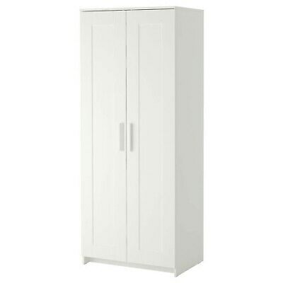 AU60 • Buy Wardrobe BRIMNES IKEA Wardrobe With 2 Doors, White78x190 Cm.