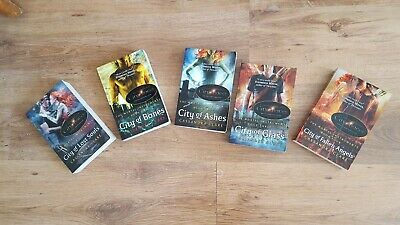 MORTAL INSTRUMENTS City Of Bones Book Series No 1-5 Used But In Great Condition • 13£