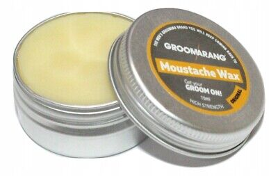 Moustache & Beard Wax Extra Strong Original 100% Natural Hair Care Organic Vegan • 5.99£
