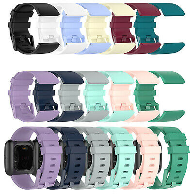 $ CDN3.34 • Buy For Fitbit Versa 2 / LITE Watch Band Replacement Silicone Bracelet Wrist Strap