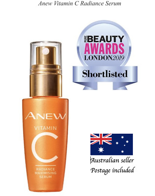 AU37.50 • Buy AVON Anew Vitamin C (previous Clearly C) Radiance Serum 30ml AUS Seller
