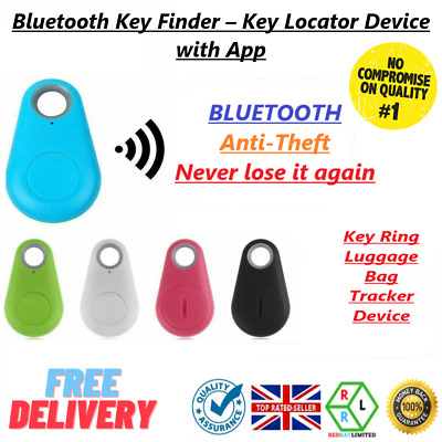 Find My Keys Device Bluetooth 4.0 Car Key GPS Tracker Locator Itag Itrace NEW UK • 4.45£