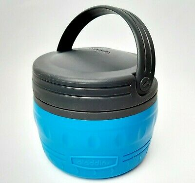 AU45 • Buy ALADDIN Thermos Insulated Food Container Carry With Inner Divider Blue 24oz .71L