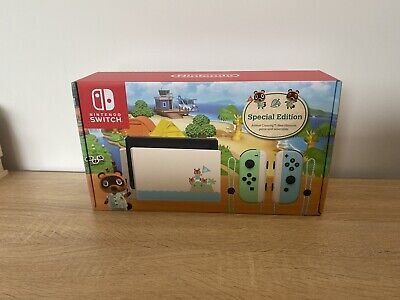 AU530 • Buy Nintendo Switch Animal Crossing: New Horizons Special Edition Console