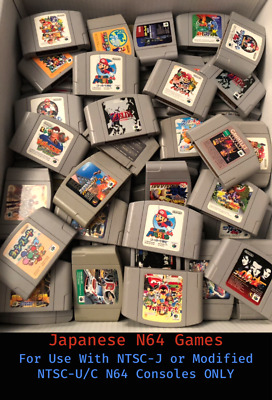 $ CDN24.95 • Buy Japanese Import Nintendo 64 Games (N64 Japan) * You Pick ** Combined Shipping **