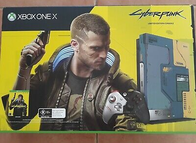 AU799 • Buy Microsoft XBOX ONE X 1TB Cyberpunk 2077 Limited Edition Console Bundle