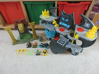 Imaginext Batman Ooze Pit, Bat Cave, Figures, Bike, Ooze And More • 29.95£