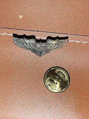 $25 • Buy Vintage Military Pilot's Wings Pin Barn Find Unknown Check It Out P3