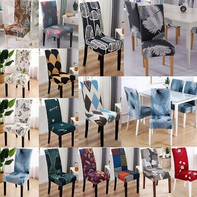 AU16.26 • Buy 2/4/6/8X Stretch Dining Chair Covers Removable Slipcovers Wedding Banquet Decor