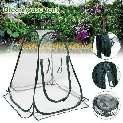 New Pop Up Garden Plants Flowers Cover Tent PVC Greenhouse Cloche Propagator • 16.99£