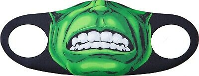 Reusable Adults Virus Face Mask Washable  Cover Full Face The Hulk Marvel • 3£