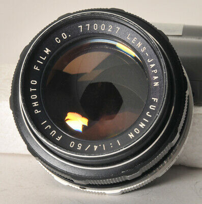 $ CDN133 • Buy Fuji Fujinon 50mm F1.4 Normal Lens With Pentax M42 Screw Mount.