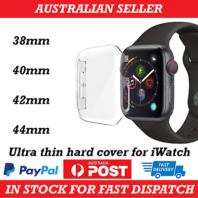 AU6.89 • Buy Apple Watch Series 1/2/3/4/5/6/SE Hard Front Case Cover IWatch 38/42/40/44mm