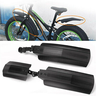 2pcs Mountain Bike Mudguard MTB Front/Rear Wings Bicycle Fenders Mud Guards Set • 9.59£