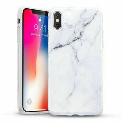 AU7.49 • Buy IPhone Case Marble Pattern Soft TPU Flexible Silicone Skin Cover Protection