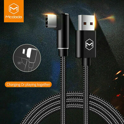 AU8.99 • Buy Mcdodo USB Type C Data Charger Fast Charging USB C Cable For Samsung Huawei