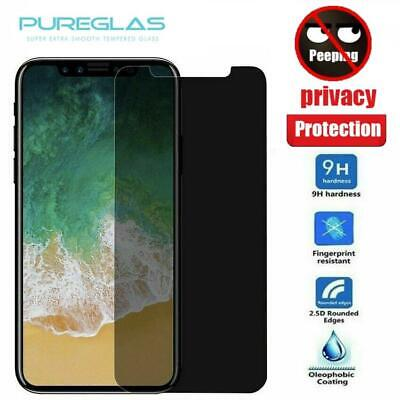 AU7.49 • Buy Pureglas Privacy Tempered Glass Screen Protector IPhone 11 Pro XS Max 8 7